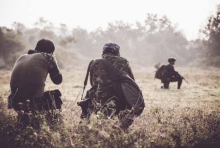 Berichterstattung im Kriegsgebiet